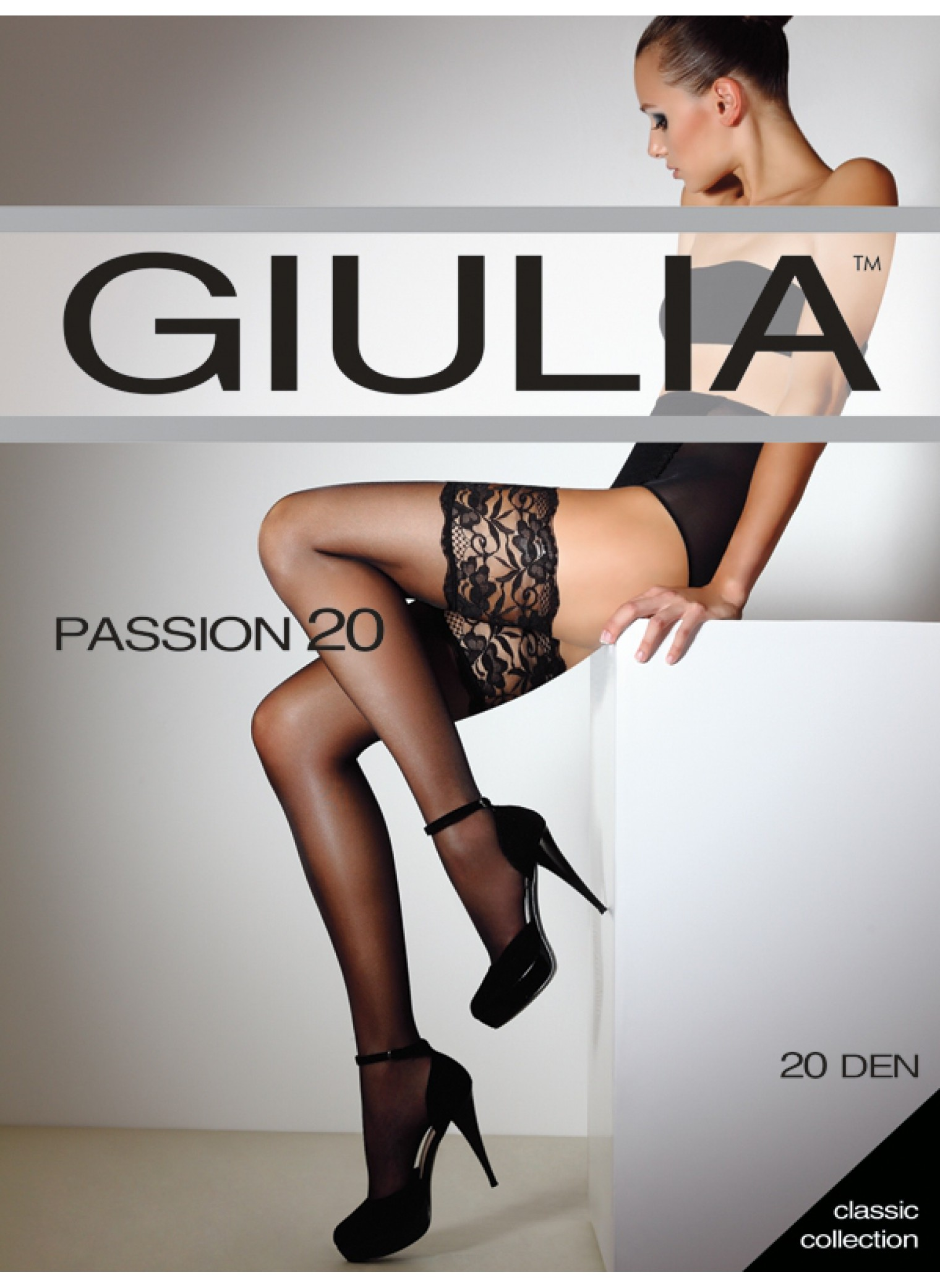 Чулки Passion 20